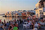 La ville de Mykonos, Mykonos, Iles Cyclades, îles grecques, Grèce, Europe