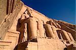 Temple of Abu Simbel, UNESCO World Heritage Site, Lake Nasser, Egypt, North Africa, Africa