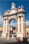 Santarcangelo di Romagna, vieille ville, de la côte Adriatique, Emilie-Romagne, Italie, Europe