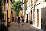 Santarcangelo di Romagna, old town, Adriatic coast, Emilia-Romagna, Italy, Europe