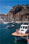 Port de San Sebastian de la Gomera, la Gomera, Iles Canaries, Espagne, Atlantique, Europe