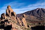 Las Canadas, Parque Nacional del Teide, UNESCO Weltkulturerbe, Teneriffa, Kanarische Inseln, Spanien, Europa