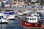 Port et ville, Lyme Regis, Dorset, Angleterre, Royaume-Uni, Europe