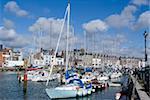 Harbour view, Weymouth, Dorset, England, United Kingdom, Europe