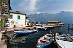 Limone del Garda, Lake Garda, Lombardy, Italian Lakes, Italy, Europe