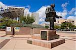 Mayor Harry E. Kinney statue in Civic Plaza, Albuquerque, New Mexico, United States of America, North America