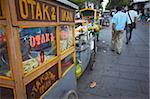 Food stalls in Taman Fatahillah, Kota, Jakarta, Java, Indonesia, Southeast Asia, Asia