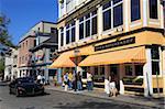 Thames Street, Newport, Rhode Island, New England, États-Unis d'Amérique, l'Amérique du Nord