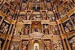 Church reredos, Real Monasterio de San Jeronimo, Granada, Andalucia, Spain, Europe