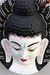 Buddha head, Paris, France, Europe