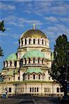 Aleksandur Nevski Memorial Church, Ploshtad Aleksandur Nevski Place, Boulevard Moskovska Oborishte, Sofia, Bulgaria, Europe
