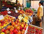 Fruit and vegetable market, Rialto, Venice, Veneto, Italy, Europe