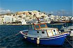 La Chora (Hora), Naxos, Iles Cyclades, îles grecques, mer Égée, Grèce, Europe
