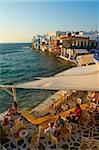 Petite Venise, Alefkandra district, The Chora (Hora), Mykonos, Iles Cyclades, îles grecques, mer Égée, Grèce, Europe