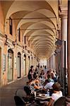 Arcade cafe, Modena, Emilia Romagna, Italy, Europe