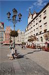Market Square, Old Town, Wroclaw, Silesia, Poland, Europe