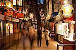 Scène de rue, jardins de Tivoli, Copenhague, Danemark, Scandinavie, Europe