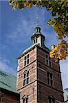 Rosenborg Castle, Copenhagen, Denmark, Scandinavia, Europe
