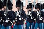Changing of the Guard, Copenhagen, Denmark, Scandinavia, Europe