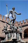 Fountain of Neptune, Piazza del Nettuno, Bologna, Emilia Romagna, Italy, Europe