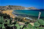 Ramla Bay, Malta, Gozo, Mittelmeer, Europa