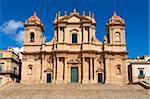 The Duomo, Noto, Sicily, Italy, Europe