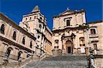 Baroque San Francesco Church, Noto, Sicily, Italy, Europe