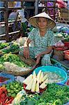 Bodenständiges Markt, Hue, North Central Coast, Vietnam, Indochina, Südostasien, Asien