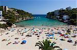 Cala Santanyi, Mallorca (Mallorca), Balearen, Spanien, Mediterranean, Europa
