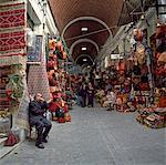 La Medina, Tunis, Tunisie, l'Afrique du Nord, l'Afrique