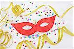 Mask and Confetti