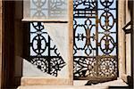 Close-Up of Broken Window, Saladin Citadel, Cairo, Egypt