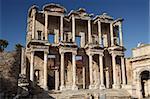 Library of Celsus, ruins of ancient  Ephesus,  Turkey