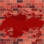 Bricks full of blood
