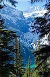 mountains around Lake Moraine,Banff National Park,Canada