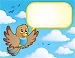 Bird theme image 4 - vector illustration.