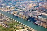 Cargo Harbor / Aerial View