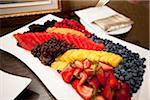 Platter of Assorted Fruit on Platter