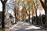 Frankreich, Paris, Pere Lachaise Friedhof