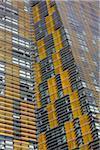 Gros plan de Veer Towers, Las Vegas, Nevada, USA