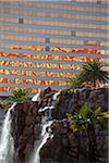 Waterfall, The Mirage, Las Vegas, Nevada, USA