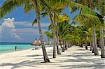 Scène de plage, Panglao, Bohol, Philippines, Asie du sud-est, Asie