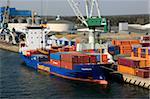Port d'Arhus, Smaland, Suède, Scandinavie, Europe