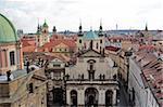 Vieille ville, patrimoine mondial UNESCO, Prague, République tchèque, Europe