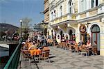 Restaurant in the Old Town, Prague, Czech Republic, Europe
