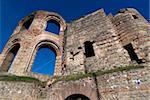 Roman ruins of the Kaiserthermen, UNESCO World Heritage Site, Trier, Rhineland-Palatinate, Germany, Europe