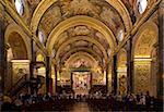 Interior of St. John's CoCathedral, Valletta, Malta, Europe