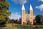 Southwell Minster, Southwell, Nottinghamshire, Angleterre, Royaume-Uni, Europe