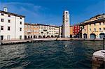 Apponale Tower, Piazza 3 Novembre, Riva del Garda, Lago di Garda (Lake Garda), Trentino-Alto Adige, Italian Lakes, Italy, Europe