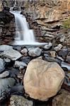 Tangle Falls, Parc National Jasper, UNESCO World Heritage Site, Alberta, Canada, en Amérique du Nord